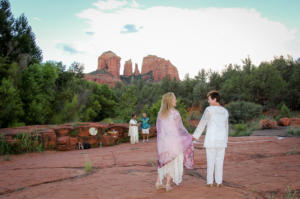 Red Rock Crossing Wedding Location Sedona Elopement Weddings