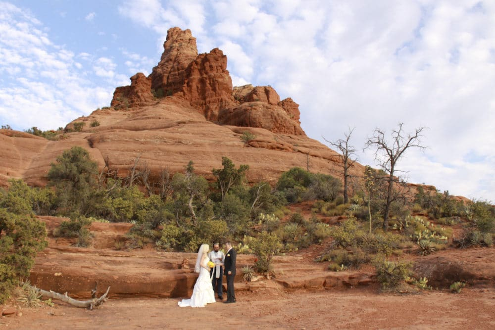 sedona elopement locations Bell Rock Wedding Location in Sedona, AZ
