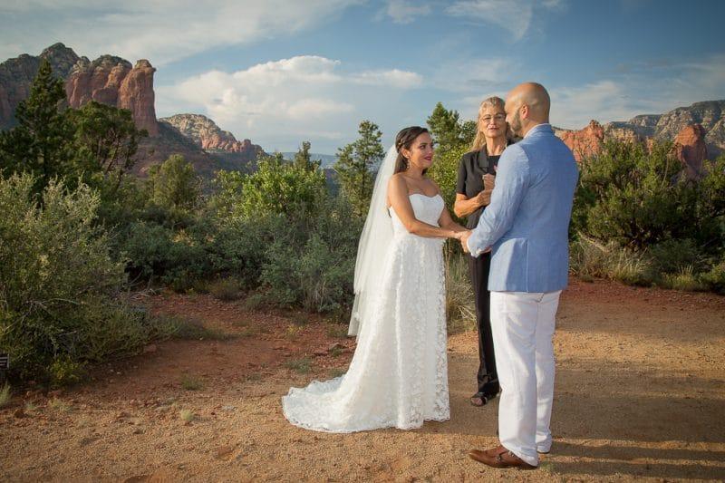 Loop Trail Wedding Location Sedona Elopement Weddings