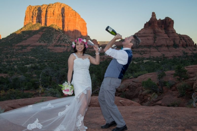 Yavapai Vista Sedona Wedding Location
