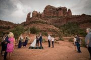 Back O' Beyond Cathedral Rock Trailhead Wedding