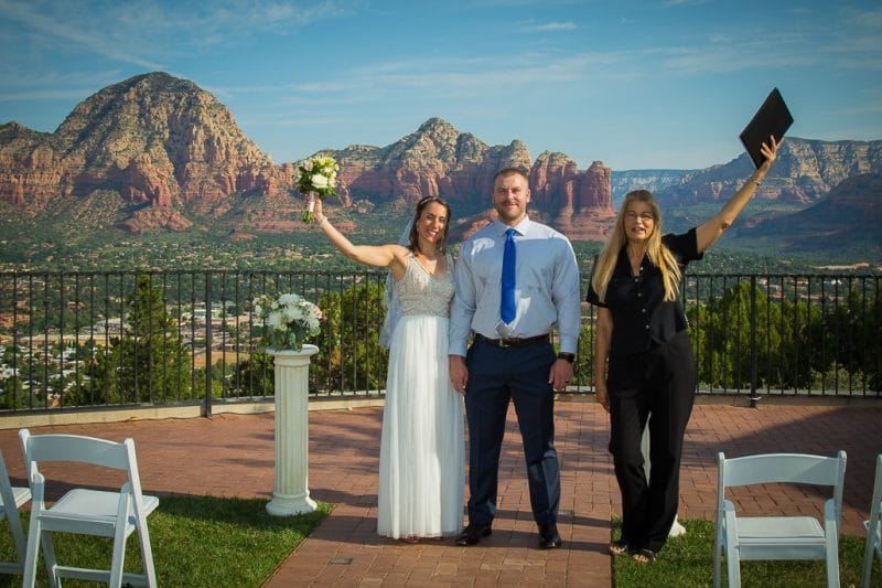Sedona Sky Ranch Lodge Wedding