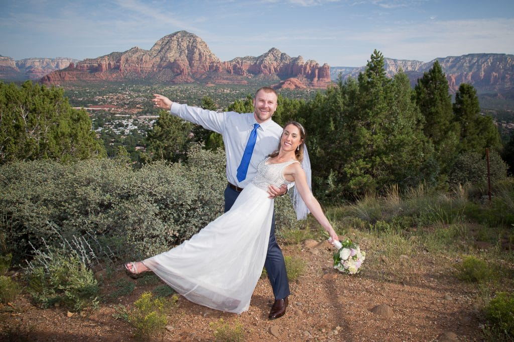 Sedona Sky Ranch Lodge Wedding location