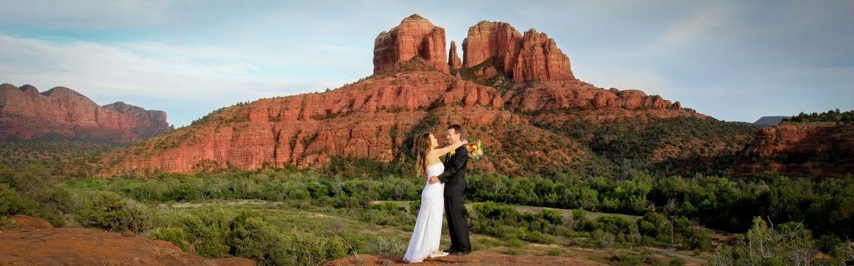 sedona elopement locations Secret Slick Rock Wedding location