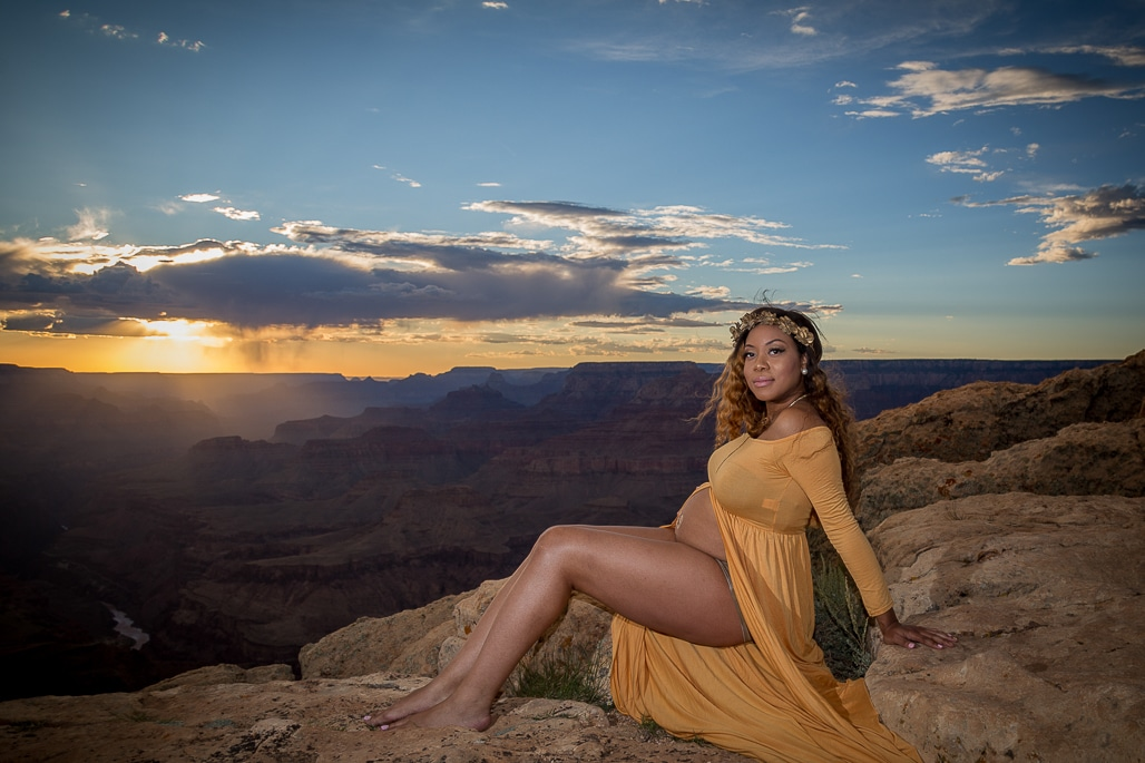 Grand Canyon Maternity Shoot