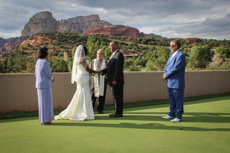 Seven Canyons Golf Resort Wedding location