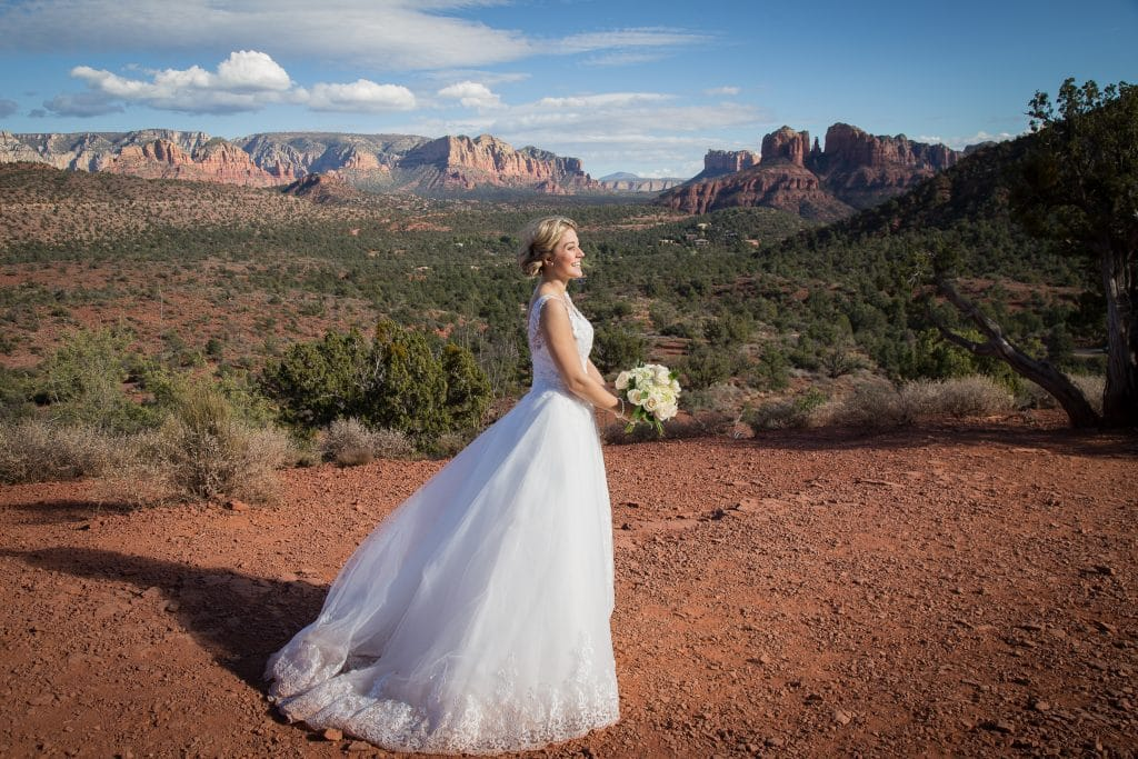Wedding Tree Knoll Sedona Wedding location