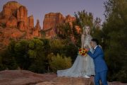 Baby on the way Crescent Moon Ranch Sedona Elopement Weddings