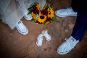 Baby shoes at Sedona Elopement Weddings