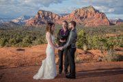 Sedona Elopement Wedding Officiant at Bell Rock Wedding