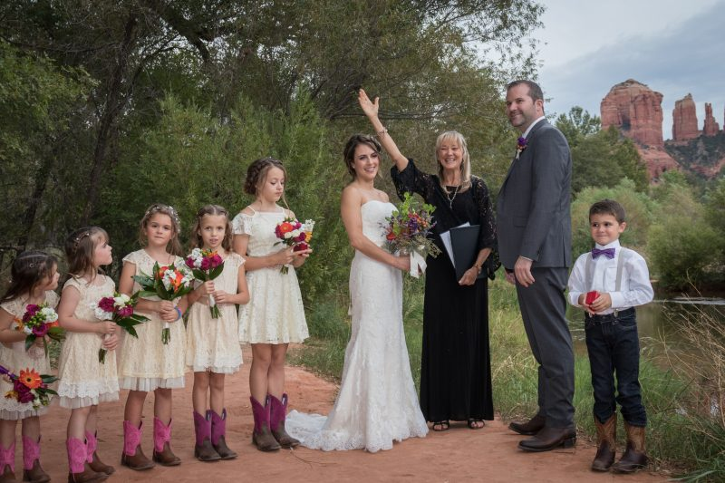 Sedona Elopement Weddings